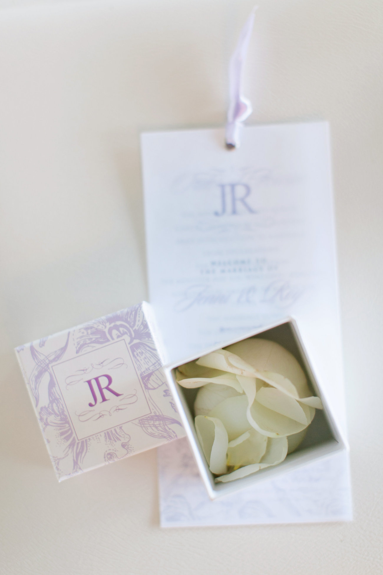 Luxurious Floral Wedding Invitation | Credit: Tyme Photography & Wedding Concepts