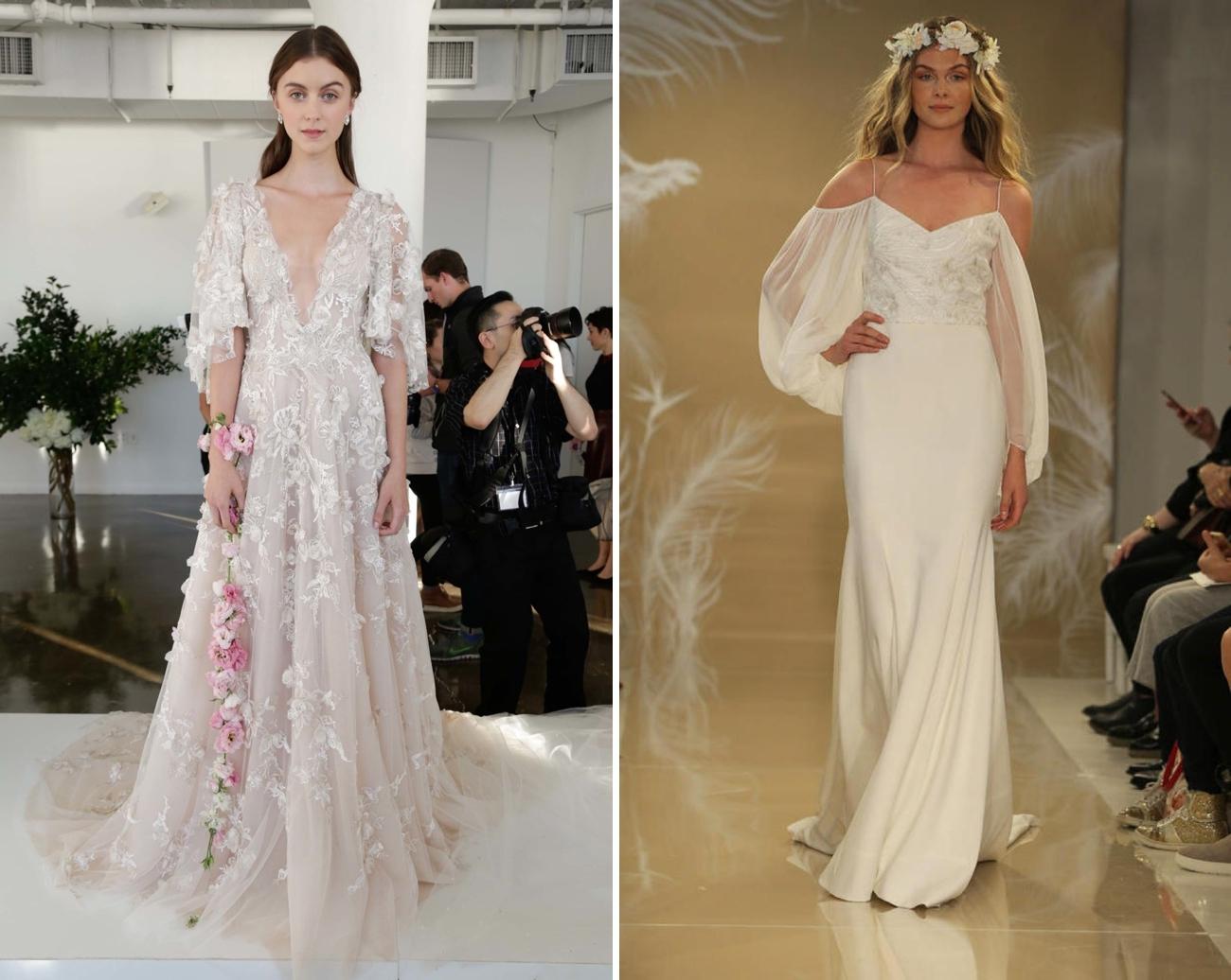 Wedding dresses 2017 trends