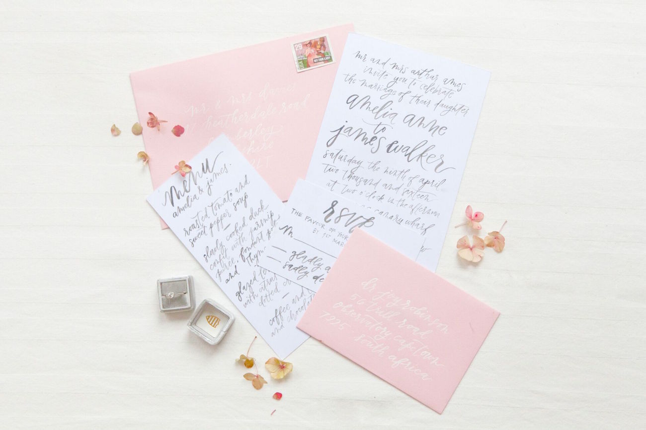 Wedding Invitations | Image: Corette Faux