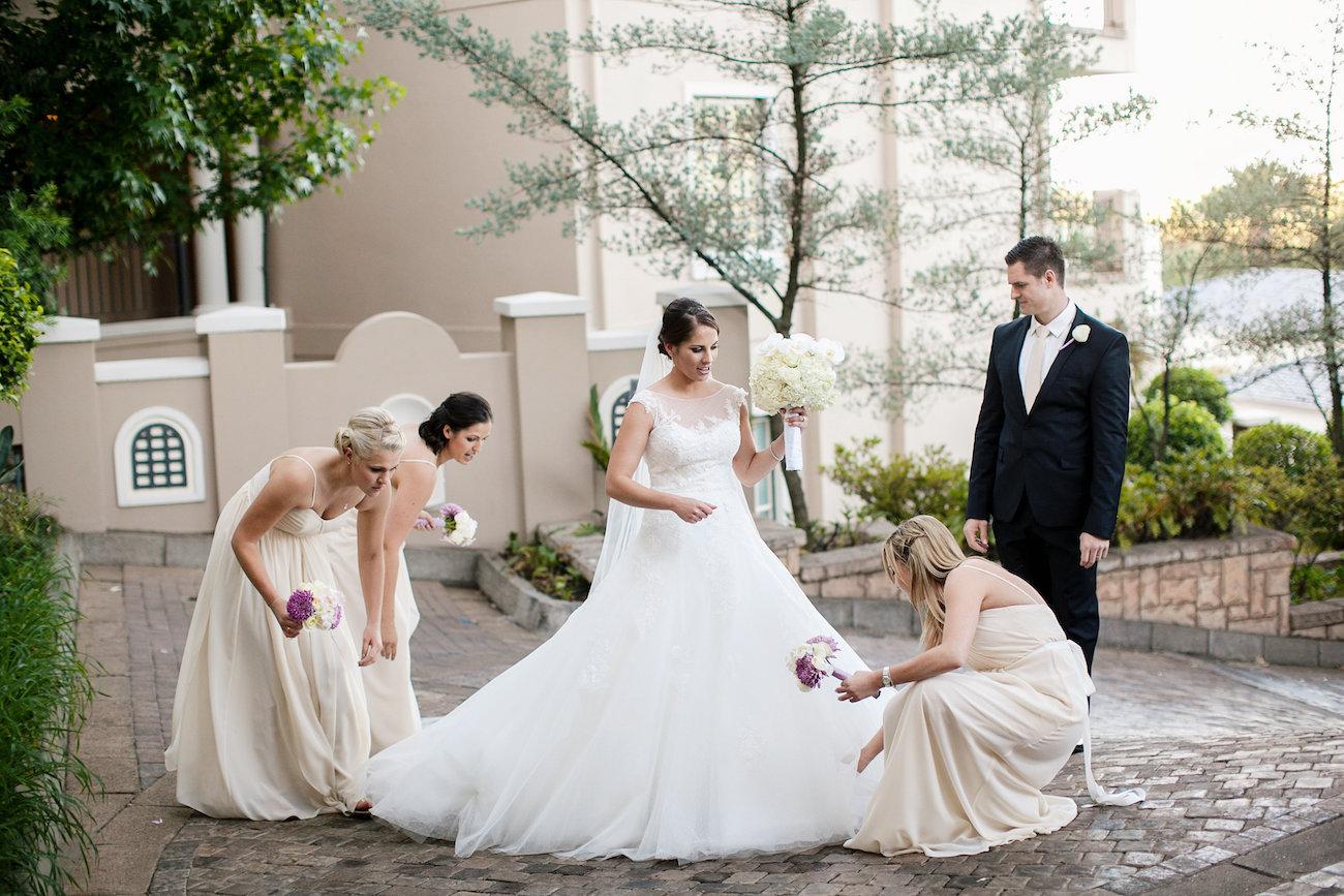 Bridesmaids | Credit: Tyme Photography & Wedding Concepts