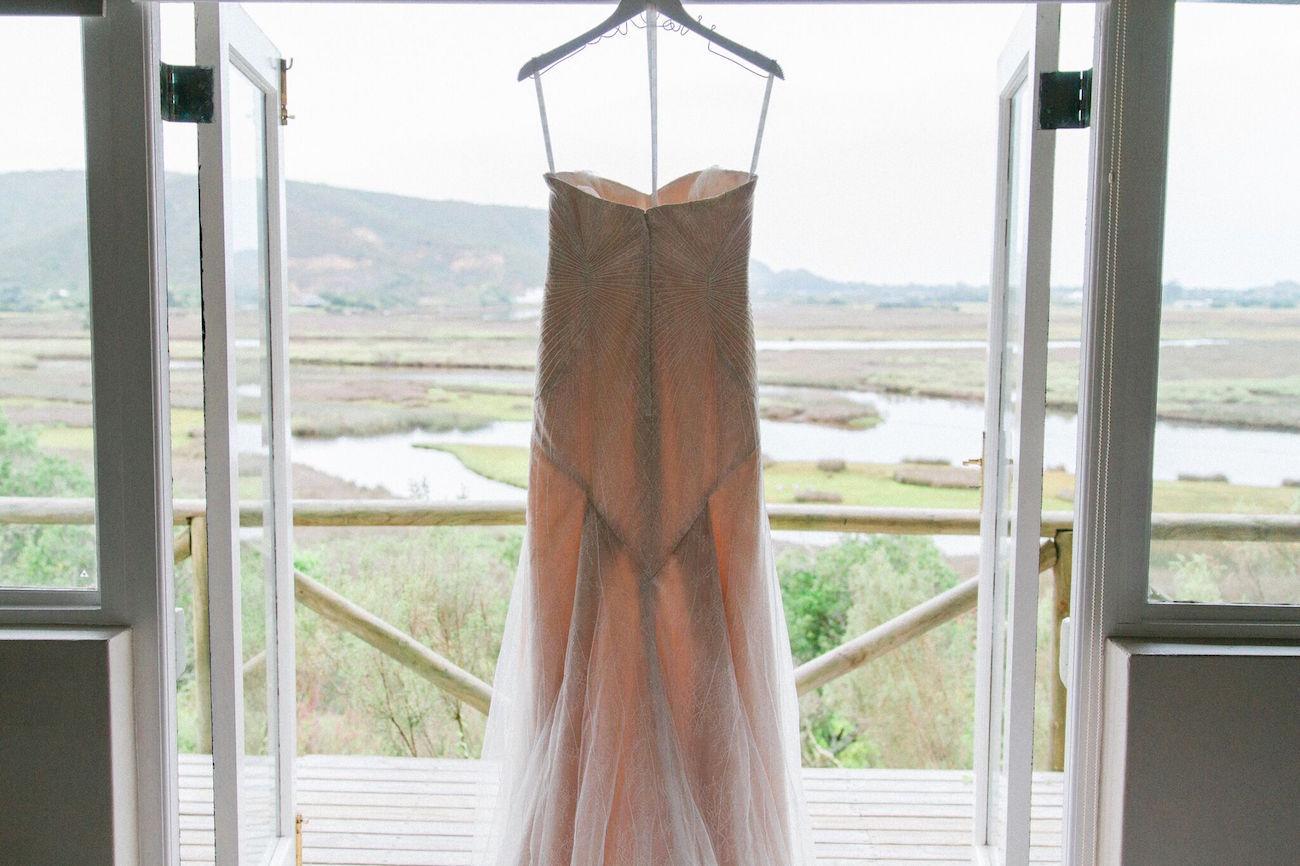 Zac Posen Wedding Dress | Image: Maxeen Kim