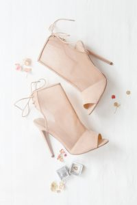 Bridal Shoes | Image: Corette Faux