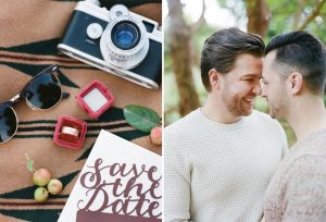 Stylish Jewel Tone Engagement Party Inspiration | Image: Katie Parra