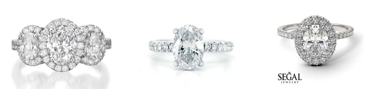 oval cut Engagement Rings from Etsy