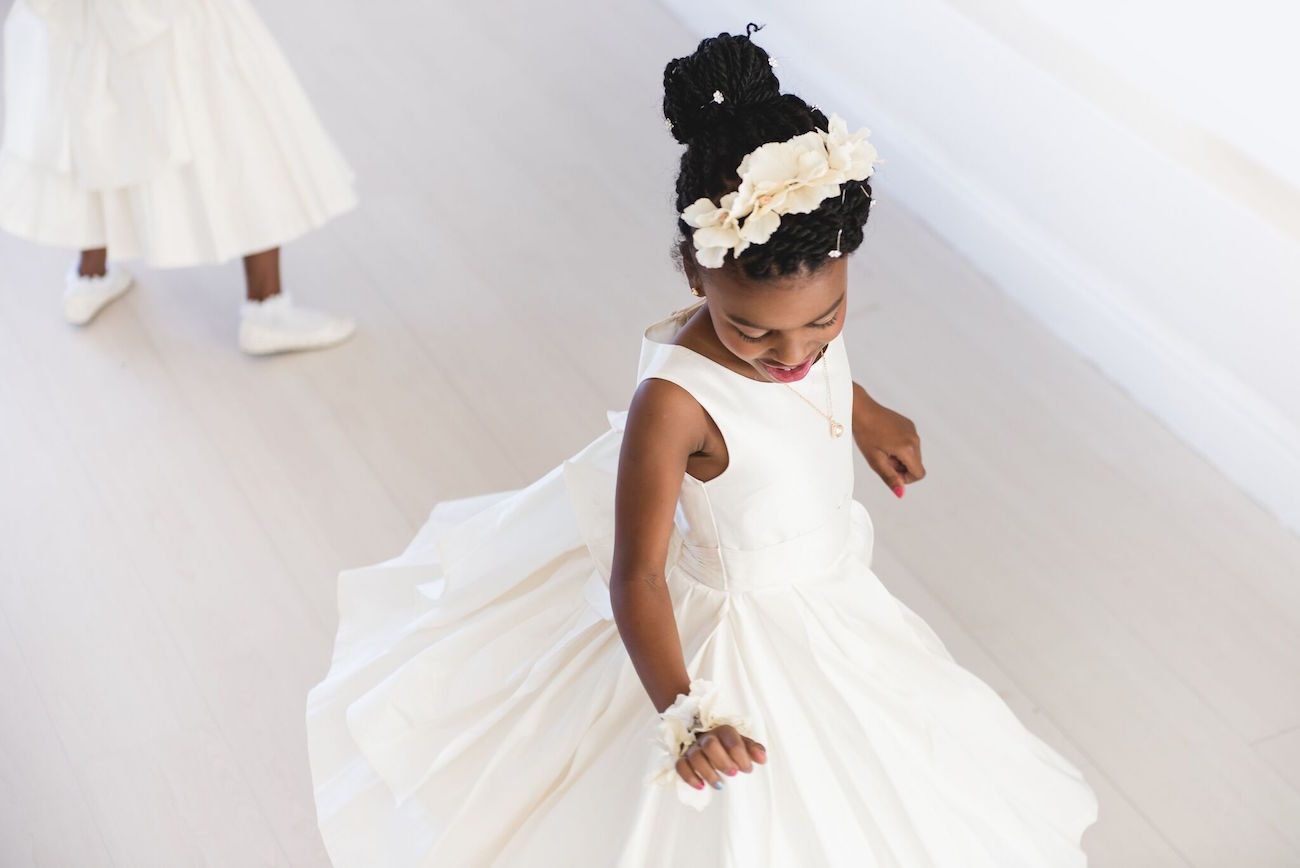 Flower Girl Twirling | Image: Daryl Glass