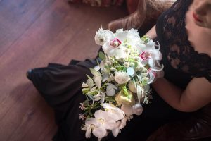 Orchid Wedding Bouquet | Credit: Jacoba Clothing/Forever September