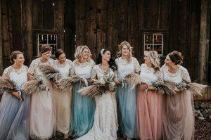 bridesmaid separates