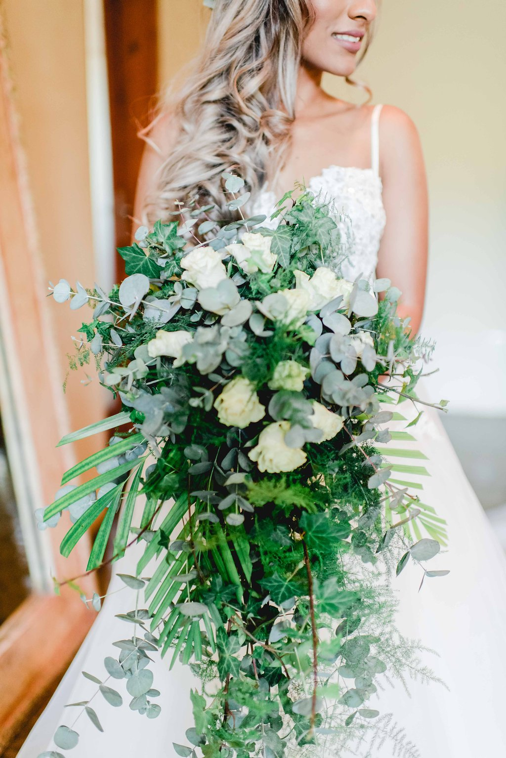 Statement Greenery Bouquet | Image: Carla Adel