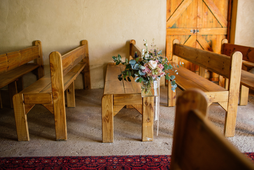 Rustic Ceremony Decor | Images: Marli Koen