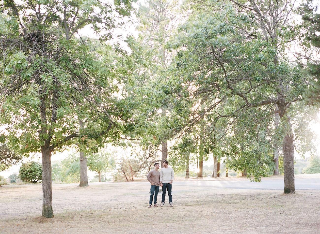 Stylish Jewel Tone Engagement | Image: Katie Parra