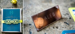 Copper Acrylic Place Name | Credit: Wedding Concepts & Tyme Photography