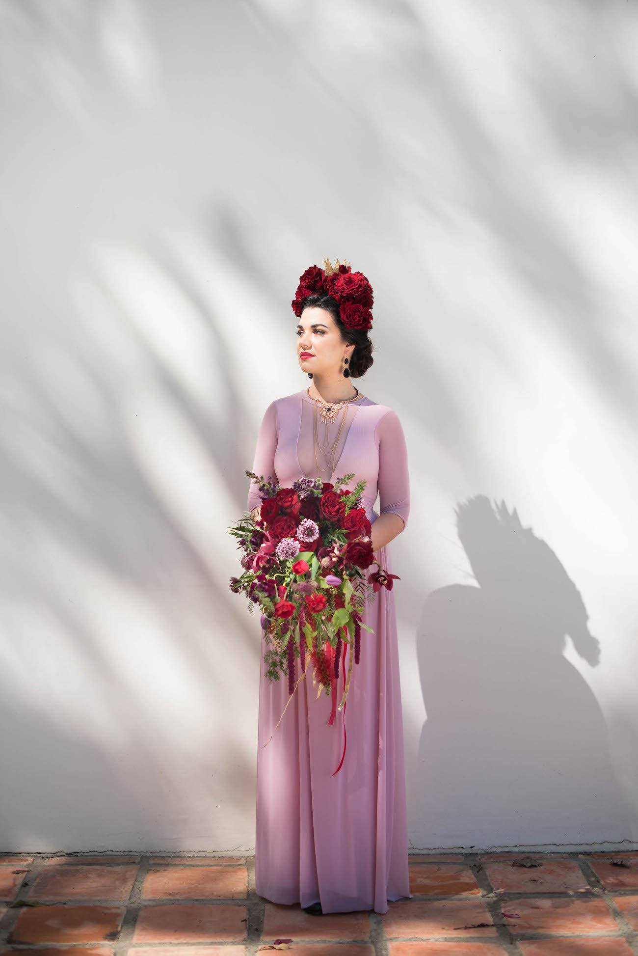 Frida Kahlo Flower Crown | Credit: Jacoba Clothing/Forever September