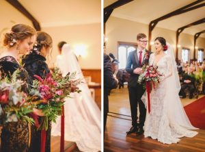 Romantic Baroque Wedding Ceremony | Credit: Roxanne Davison