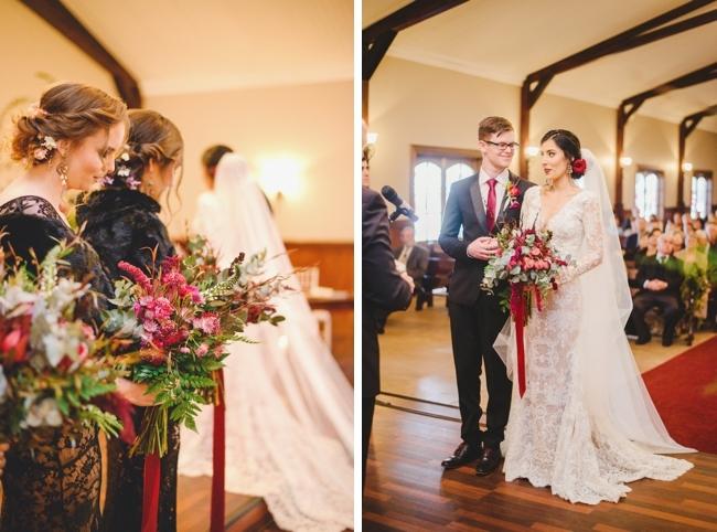 Romantic Baroque Wedding Ceremony   Credit: Roxanne Davison