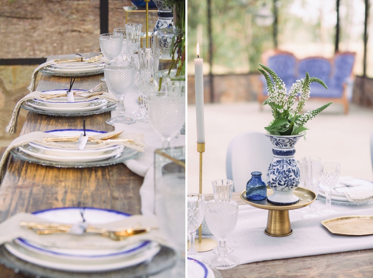 Indigo & Grey Rustic Wedding Inspiration | Credit: Dust & Dreams Photography