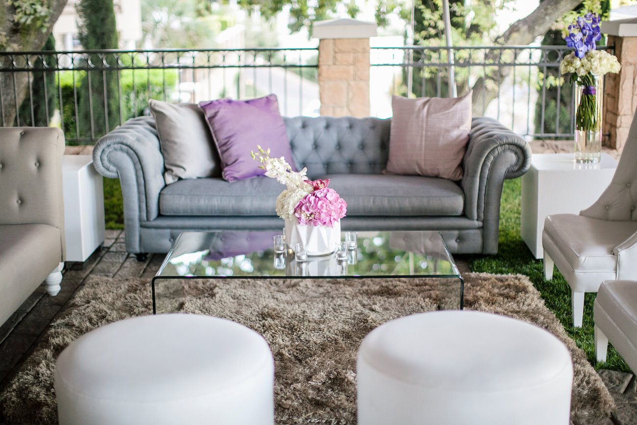 Lounge Area at Wedding | Credit: Tyme Photography & Wedding Concepts