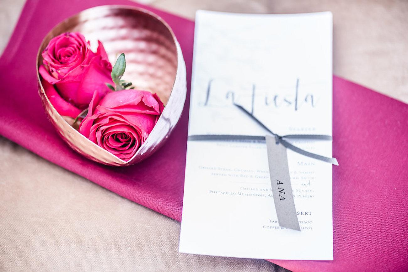 Fuschia Pink Wedding | Credit: Jacoba Clothing/PhotoKru