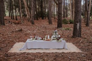 Forest Wedding | Credit: Lad & Lass Photography