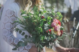 Greenery Bouquet | Credit: Vicky Bergallo
