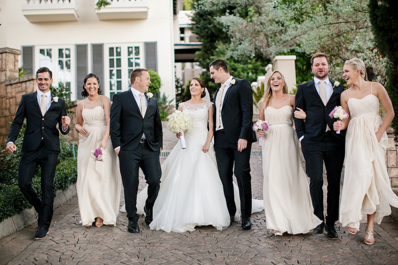 Classic Wedding Party Attire | Credit: Tyme Photography & Wedding Concepts