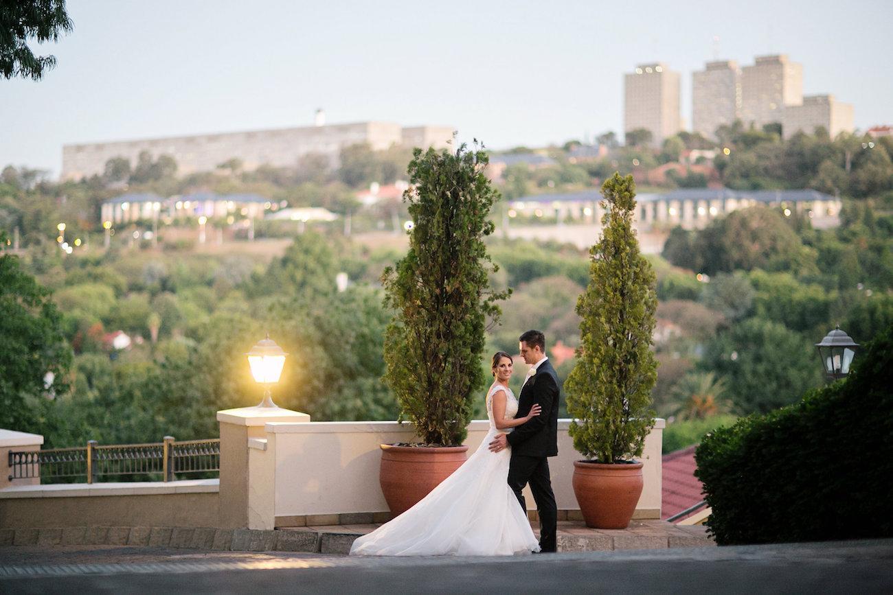 The Westcliff Johannesburg Wedding Reception | Credit: Tyme Photography & Wedding Concepts