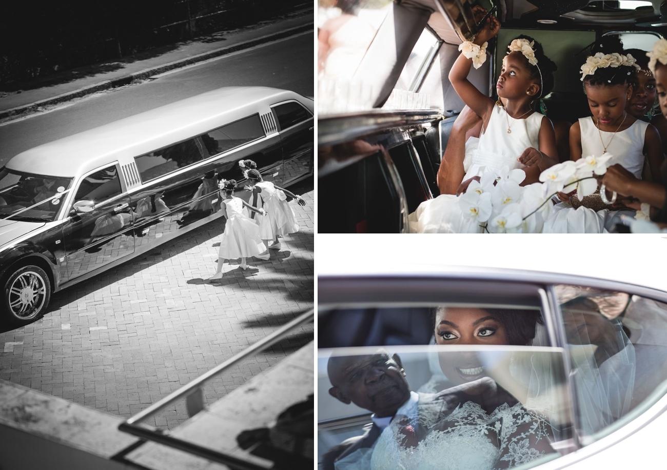 Wedding Limo | Image: Daryl Glass