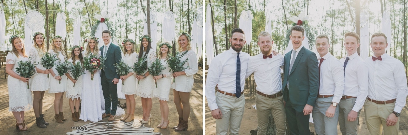 Free Spirited Forest Wedding | Credit: Vicky Bergallo