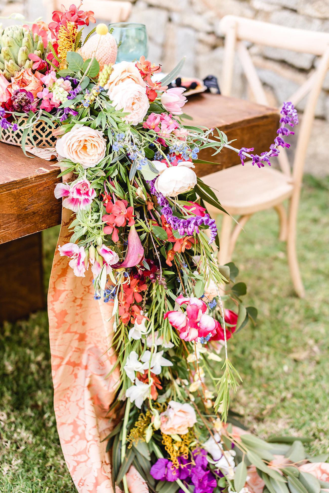Colorful Floral Runner | Credit: Jacoba Clothing/PhotoKru