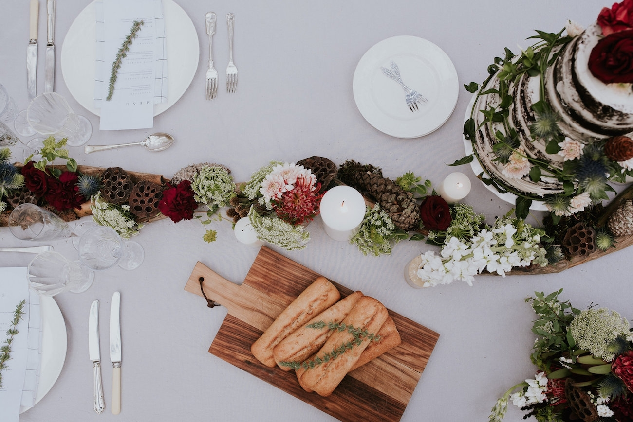 Stylish Rustic Tablescape | Credit: Lad & Lass Photography