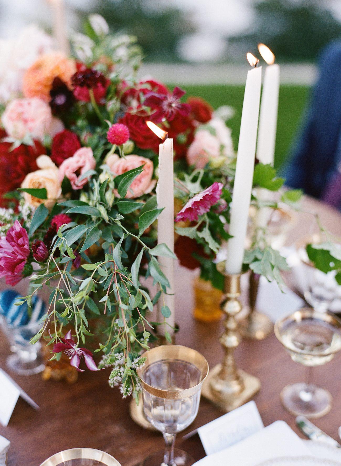 Jewel Tone Tablescape | Image: Katie Parra