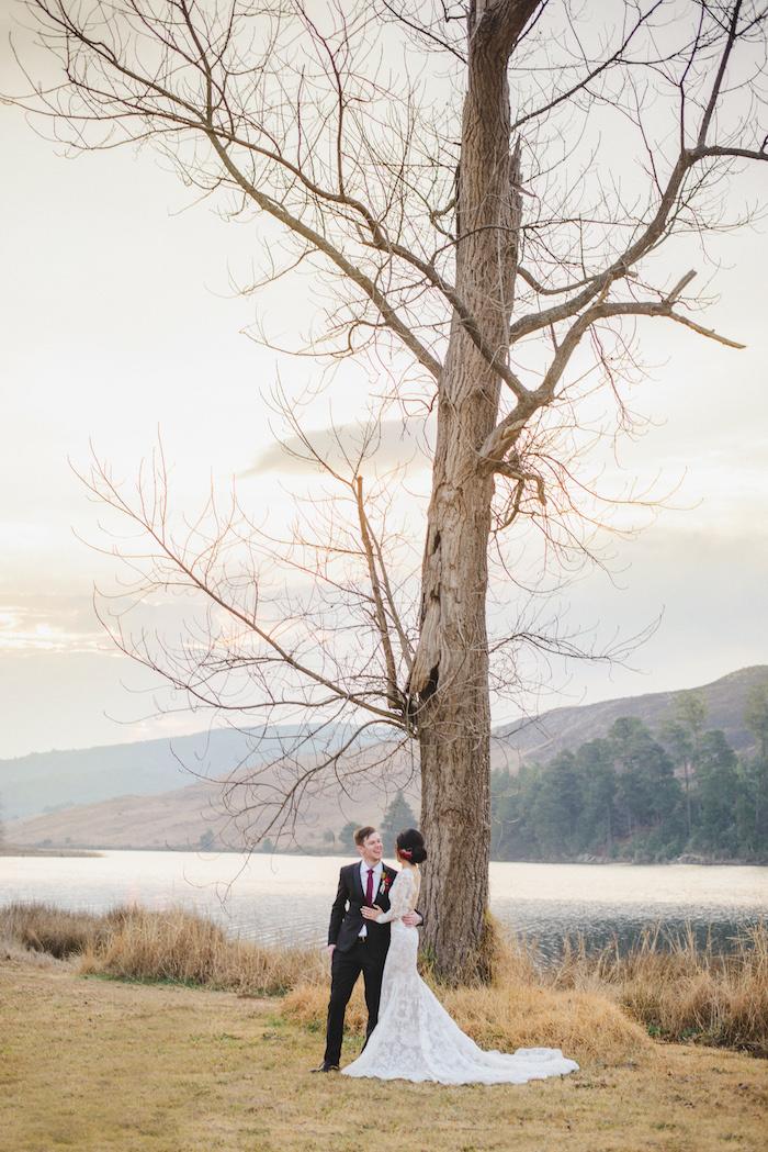 Just Married   Credit: Roxanne Davison