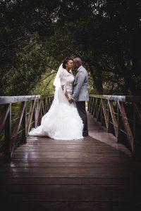 Bride and Groom | Image: Daryl Glass