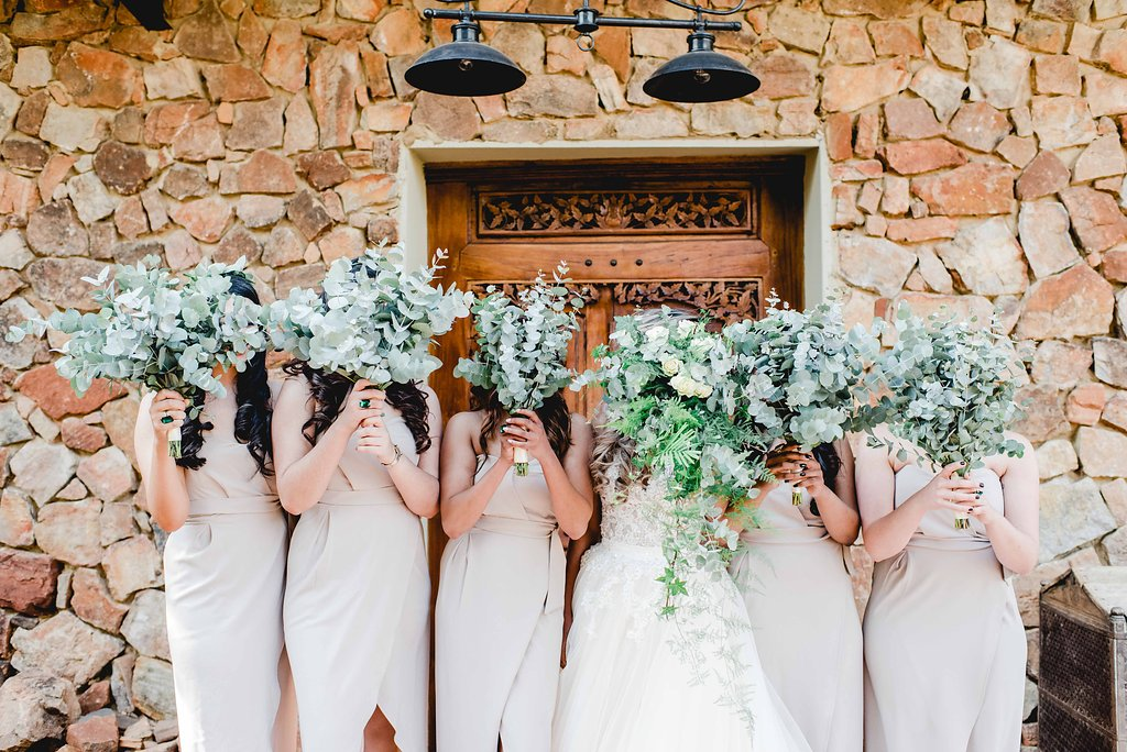Greenery Bouquets | Image: Carla Adel