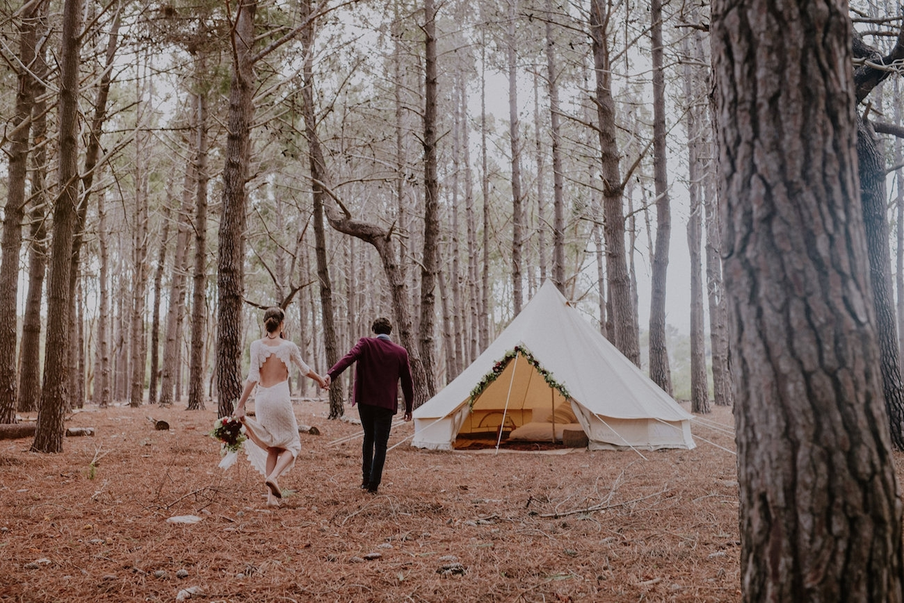 Woodlands Elopement in South Africa | Credit: Lad & Lass Photography