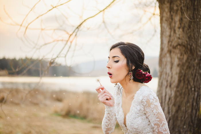 Spanish Style Bridal Hair and Makeup   Credit: Roxanne Davison