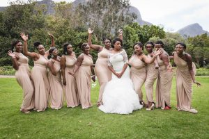 Bridesmaids in Blush | Image: Daryl Glass