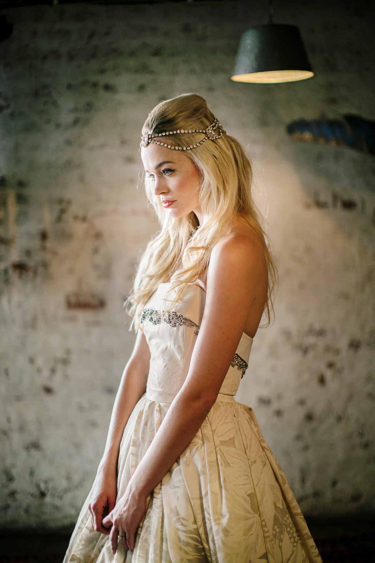 Boho Wedding Headpiece   Credit: Wedding Concepts & Tyme Photography