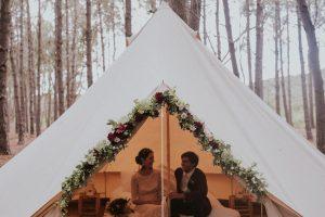Glamping Honeymoon | Credit: Lad & Lass Photography