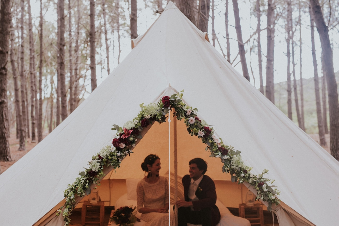 Glamping Honeymoon | Credit: Lad & Lass Photography