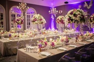 Tall Centerpieces | Credit: Tyme Photography & Wedding Concepts