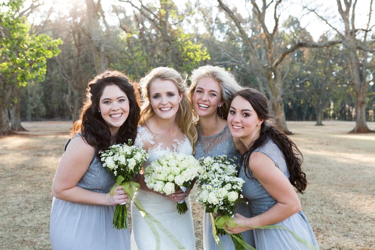 Bridesmaids in Grey | Image: Daniel West