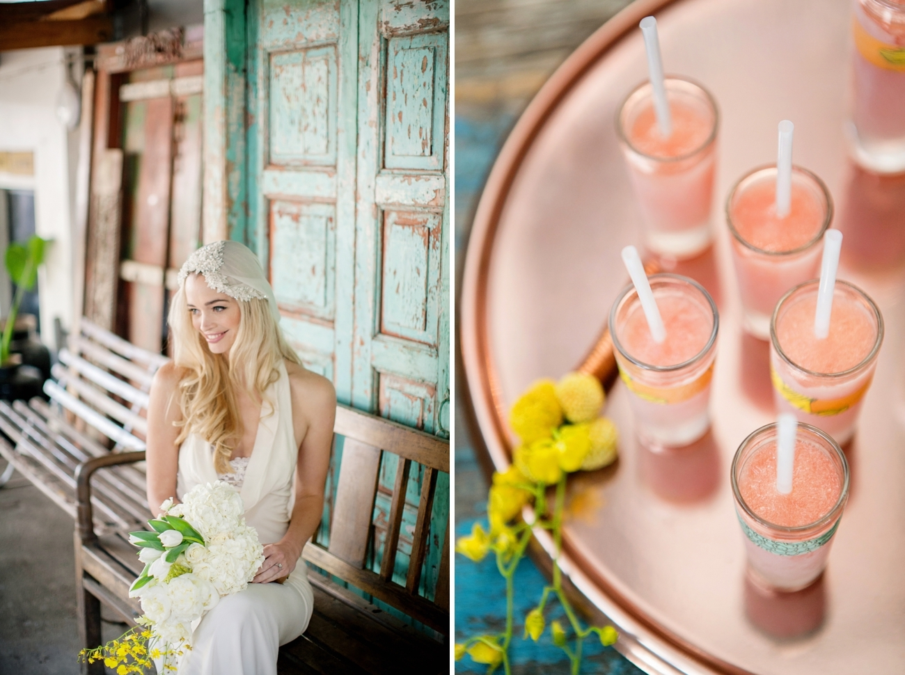 Summer Brights Wedding Inspiration | Credit: Wedding Concepts & Tyme Photography
