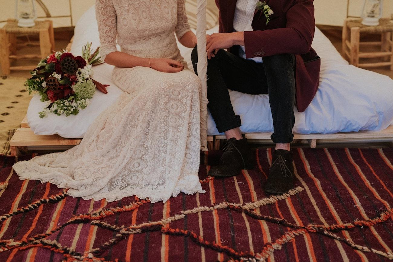 Glamping Honeymoon   Credit: Lad & Lass Photography