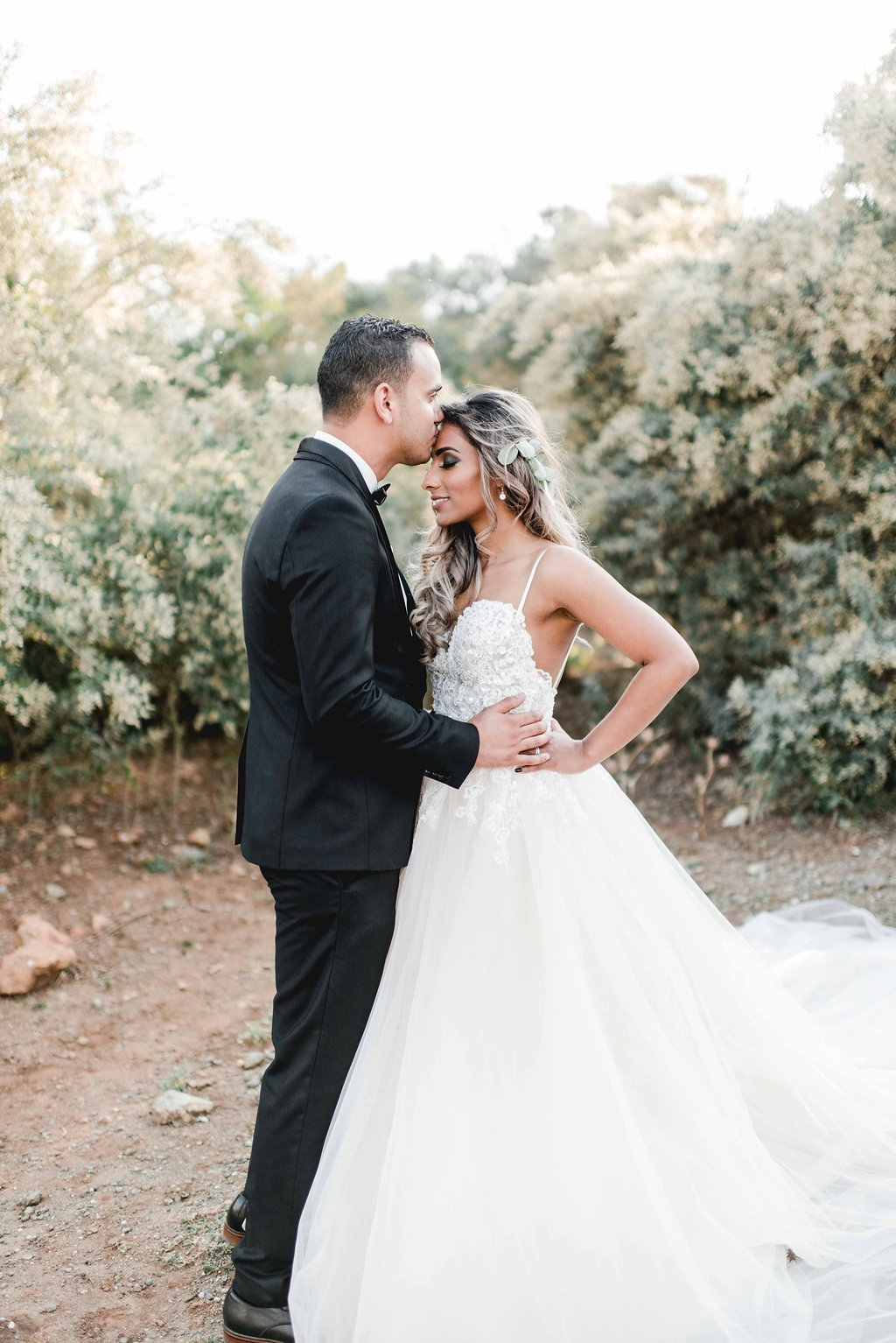 Bride and Groom | Image: Carla Adel