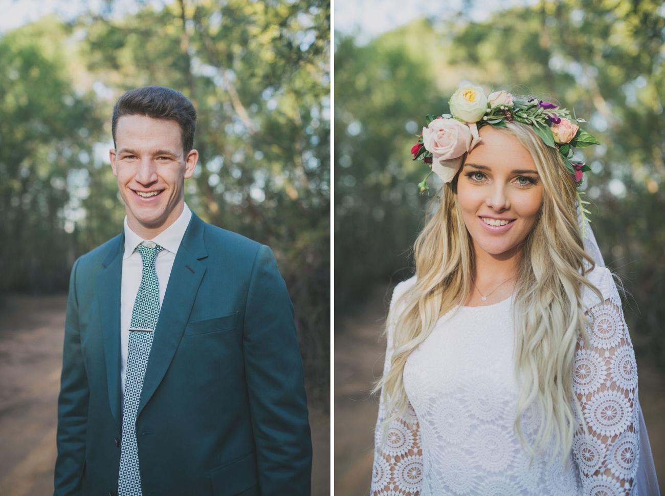 Flower Crown Bride | Credit: Vicky Bergallo