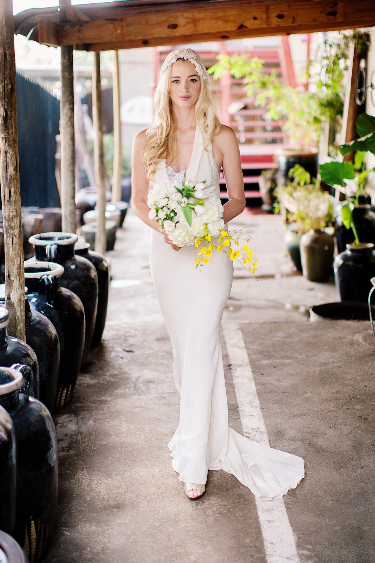 Boho Wedding Dress | Credit: Wedding Concepts & Tyme Photography