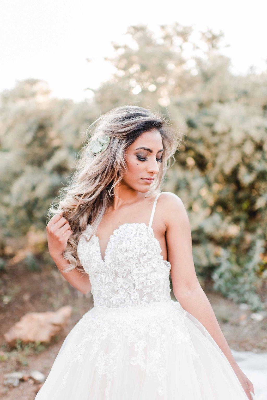 Glamorous Bride | Image: Carla Adel
