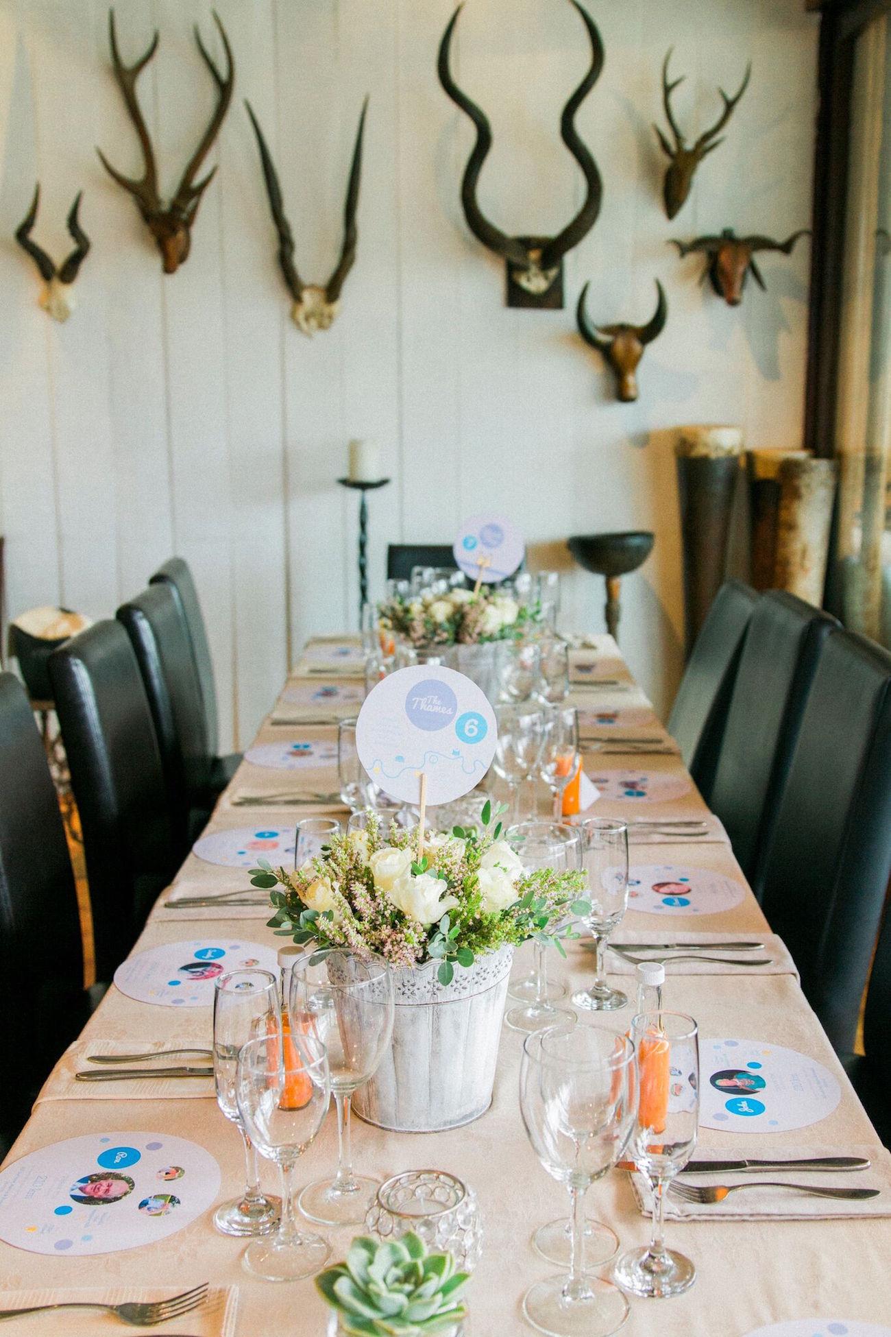 Fynbos Chic Wedding Tablescape | Image: Maxeen Kim