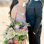 Romantic South African Protea Wedding Inspiration
