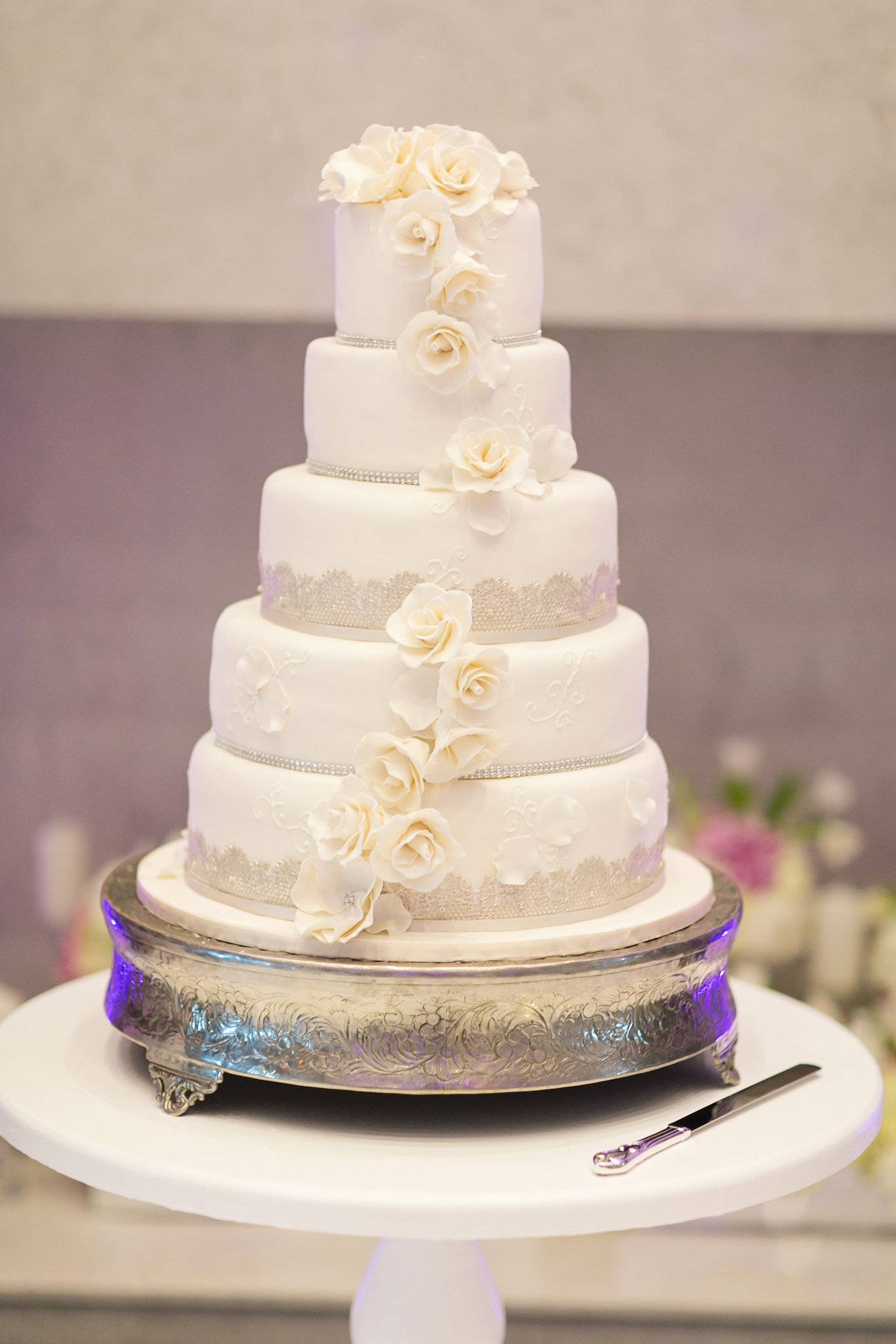 Classic Wedding Cake | Credit: Tyme Photography & Wedding Concepts